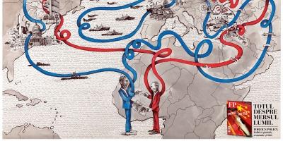 Putin si Obama, intr-o noua campanie Foreign Policy Romania semnata Grafitti BBDO