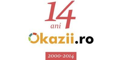 Okazii.ro la 14 ani: produse in valoare de 175 milioane de euro vandute intre 2000 si 2014