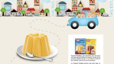 Original Pudding - Mai multa bucurie de a fi impreuna (macheta de presa)