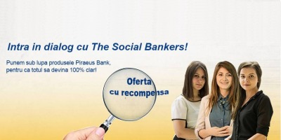 Trei fosti stagiari sunt noua imagine Piraeus Bank Romania, intr-o campanie online creata de MSPS & Momobi