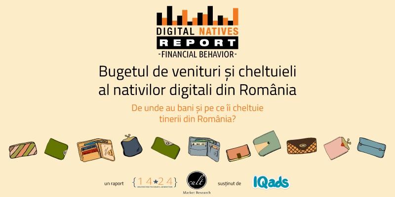 Nativii digitali in Romania: structura cheltuielilor si a surselor de venit