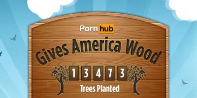Pornhub planteaza un copac pentru fiecare 100 de filme porno la care te uiti