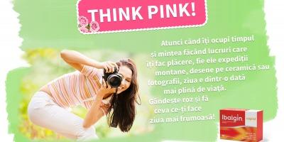 Sanofi lanseaza campania online THINK PINK cu Ibalgin Rapid