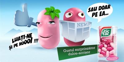 """""""Umor dulce-acrisor, adaptat la locsor"""" - o noua campanie de comunicare Tic Tac, dezvoltata de Lowe&Partners"""