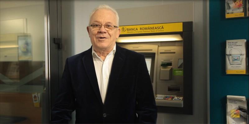 Valentin Uritescu, protagonistul noii campanii de comunicare pentru Banca Romaneasca, semnata the Syndicate