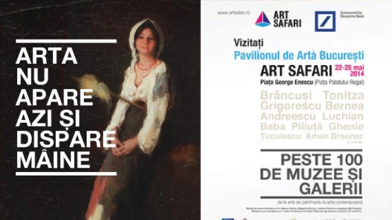 Arta in contrast cu cultura populara – o campanie Leo Burnett si iLeo pentru ART SAFARI