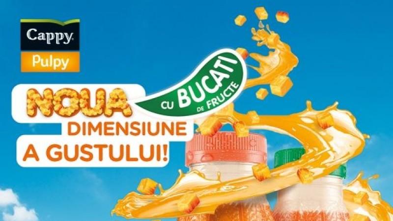 Cappy Pulpy, noua generatie de sucuri lansate de Coca-Cola Romania