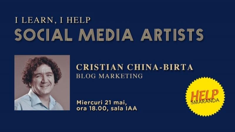 Cristian China-Birta (chinezu.eu): Agentiile se descurca excelent la baut bere cu bloggerii, dar nu se descurca deloc in alegerea lor