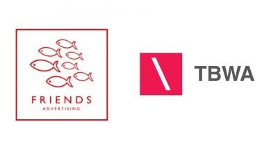 FRIENDS Advertising a fuzionat cu TBWA Bucuresti