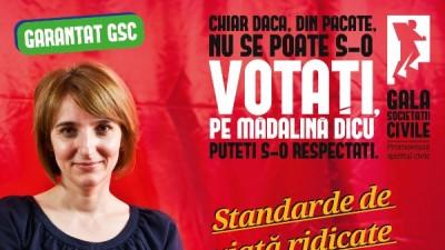 Gala Societatii Civile 2014 - Madalina Dicu