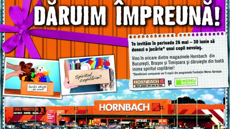 Hornbach strange jucarii pentru copiii nevoiasi