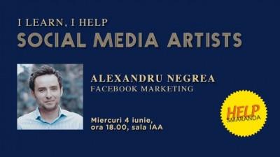 Alexandru Negrea: Cea mai mare problema a cursantilor intalniti de mine e continutul de pe Facebook - strategie, implementare si masurare