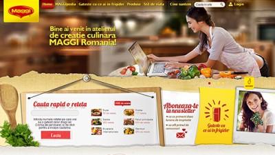 Grafitti PR comunica lansarea noului site MAGGI printr-un PR Blitz