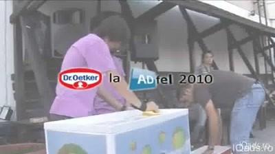Making of Dr. Oetker la ADfel 2010