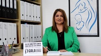Gala Societatii Civile - Maria Culescu (spot)