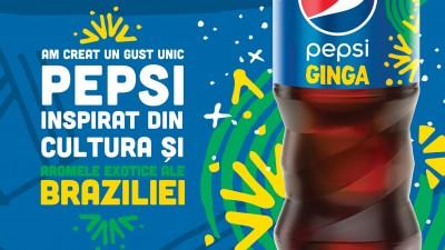 Pepsi anunta noul sortiment Ginga, prima editie speciala lansata in Romania din 2007 incoace