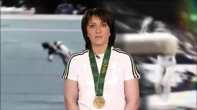 "Petrom - ""Tara, Tara, Vrem Campioane"" - Gina Gogean"