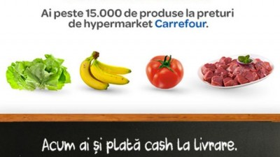 Carrefour introduce un nou serviciu pentru platforma sa de e-commerce