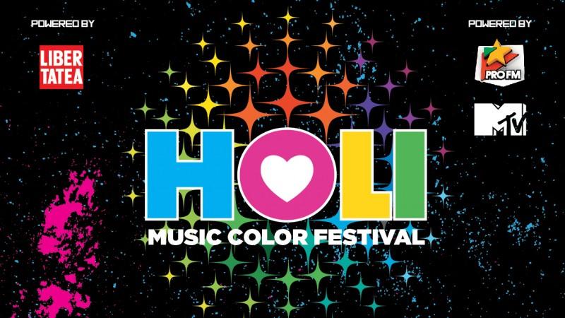 Culori, muzica si happening-uri la HOLI MUSIC COLOR FESTIVAL