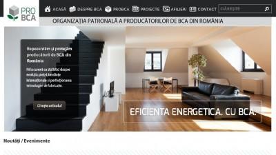 Noul site al Organizatiei Patronale a Producatorilor de BCA e realizat de Adliners Communication