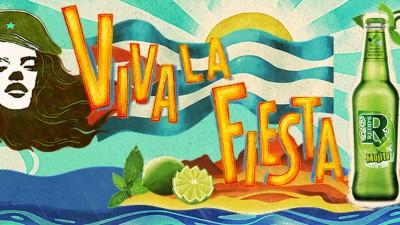 """Campania """"Viva la Fiesta"""" - o altfel de revolutie, de la Redd's Mojito"""