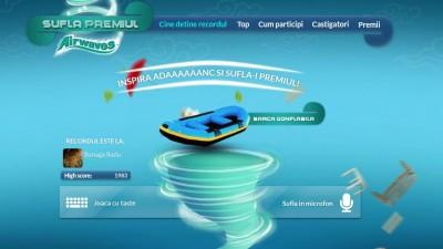 Facebook App: Airwaves - Sufla Premiul