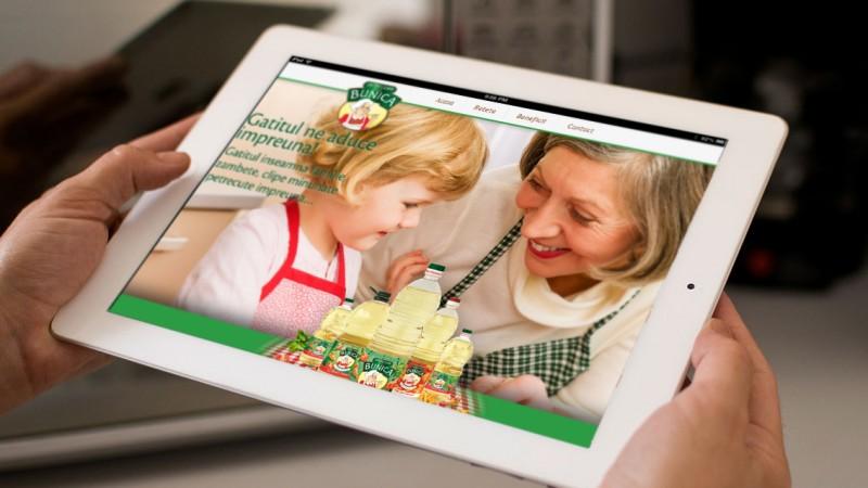 Trei bunici, personajele noului site Untdelemn de la Bunica creat de Openmind