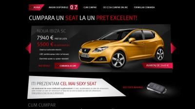Website: SEAT - SEAT Webshop (Homepage)