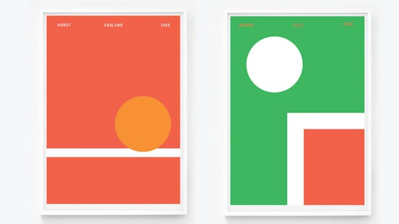 Istoria Campionatului Mondial de Fotbal in 6 postere minimaliste