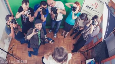 Primii pasi intr-ale fotografiei, cu ArtKlub