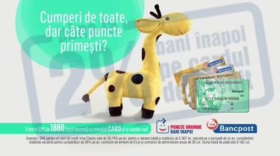 Bancpost - Girafa cu puncte (TV)