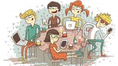 Tanarul roman, intre online si offline