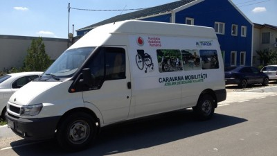 A inceput Caravana Mobilitatii, un proiect Fundatia Vodafone Romania si Fundatia Motivation