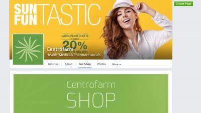 Centrofarm isi deschide magazin pe Facebook, in cadrul unei aplicatii dezvoltata de Tuio