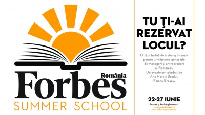 Doua noi evenimente marca Forbes: Forbes Heroes si Forbes Summer School