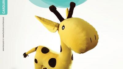 Bancpost - Girafa cu puncte