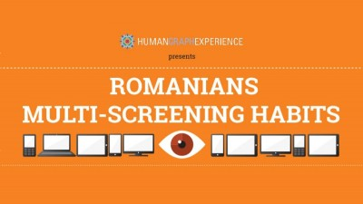 Starcom MediaVest Group lanseaza infograficul Romanians: Multi-Screening Habits