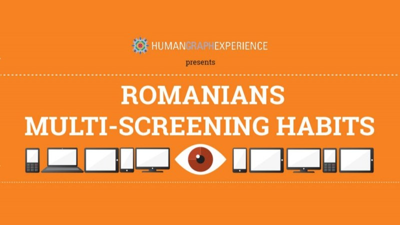 Starcom MediaVest Group lanseaza infograficul Romanians: Multi-Screening Habits