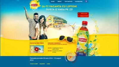 Website: Lipton Ice Tea - OVaraPeZi.ro