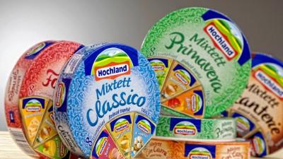 Hochland Mixtett - Noul ambalaj