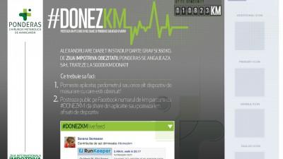 Facebook App: Ponderas - #donezkm