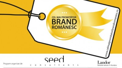 Seed Consultants cauta Cel Mai Promitator Brand Romanesc