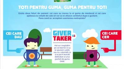 Facebook App: Orbit - Giver vs. Taker