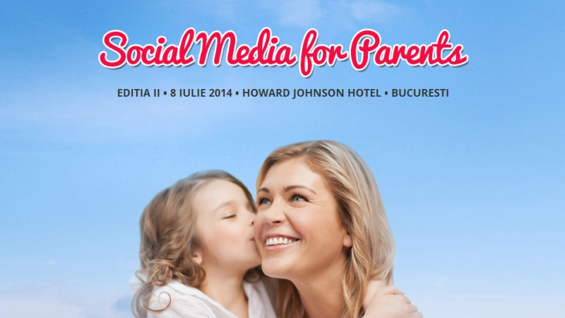 Social Media for Parents revine cu o noua editie pe 8 iulie