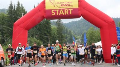 Maratonul DHL Stafeta Carpatilor 2014: donatii de 10.000 de euro catre Salvati Copiii
