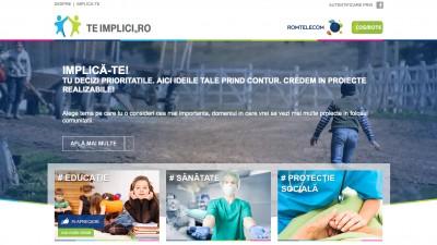 S-a lansat TeImplici.ro, o platforma de responsabilitate corporativa dezvoltata de Romtelecom si COSMOTE Romania