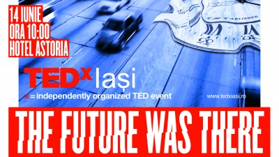 TEDx Iasi ajunge la a sasea editie in 2014