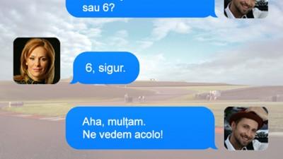 Toyota Romania - Discutie SMS Dani Otil si Roxana Ciuhulescu (Text me, I'm driving 2)