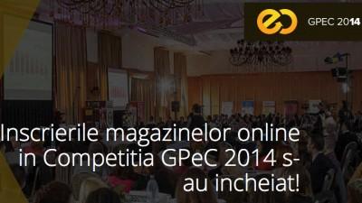 Peste 100 de magazine online s-au inscris la GPeC 2014. A inceput prima etapa de jurizare
