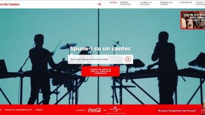 Coca-Cola - Spune-i cu un cantec
